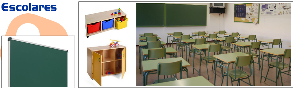 Muebles escolares aulas mobiliario de oficina sillas for Muebles oficina madrid