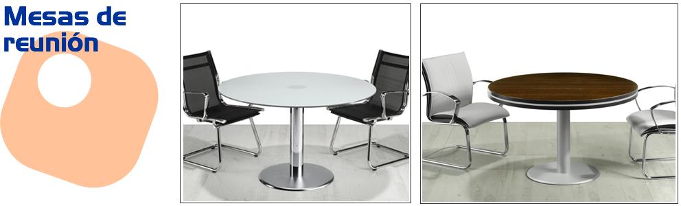 Mesas de reunion y juntas mobiliario de oficina sillas for Mesas de oficina madrid