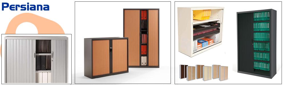 Armarios de metal armarios de persiana mobiliario de - Armarios de oficina ...